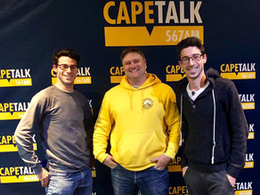 CapeTalk Radio: Hiking with Tim Lundy Interview