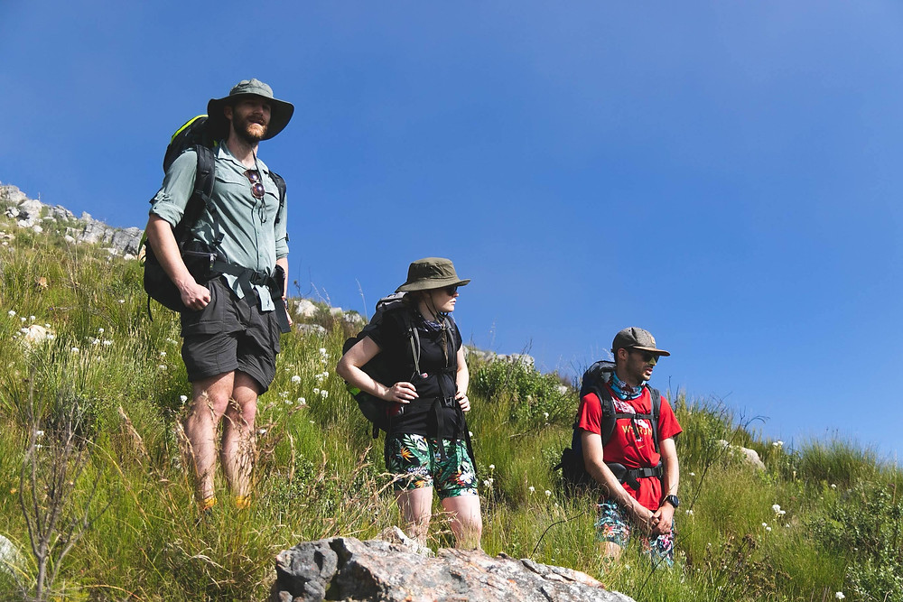 Forge Recommends:  Overheating and sun stroke are serious threats when you spend all day out in the mountains. Use sunscreen with a minimum SPF (sun protection factor) of 30.