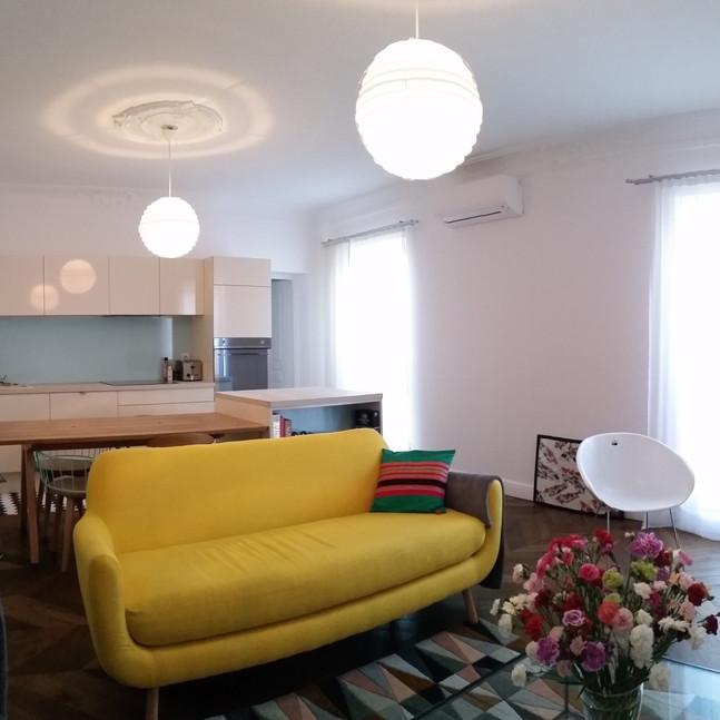 9 architecture ajaccio cédric chabrier réhabilitation appartement