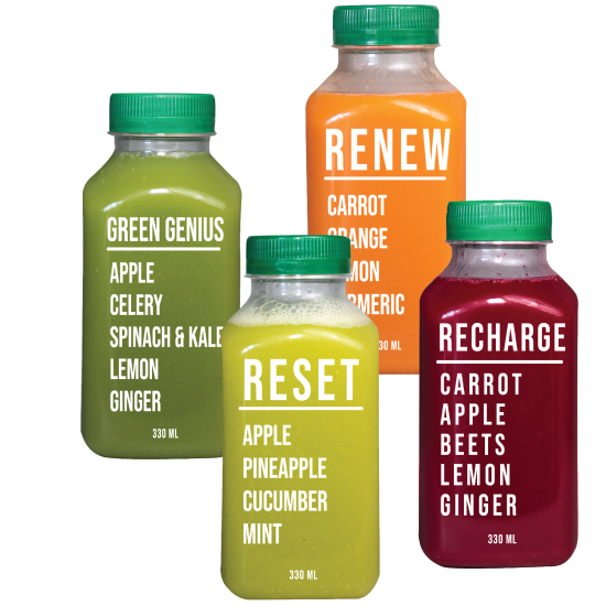 New Bottled Juice Cleanse