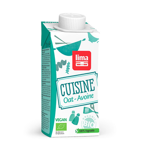 Oat Cooking Cream - 200ml (Lima)