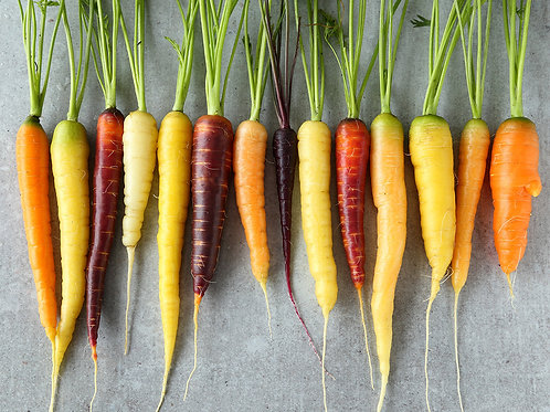 Coloured carrots - 500g