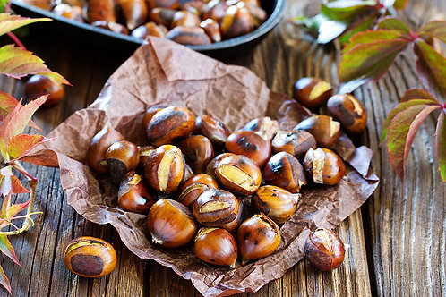 Cooked chestnuts (vacuum packed) - 200g