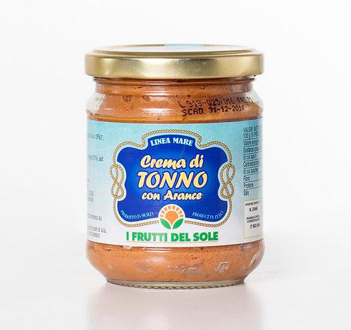 Cream of tuna and orange - 180g