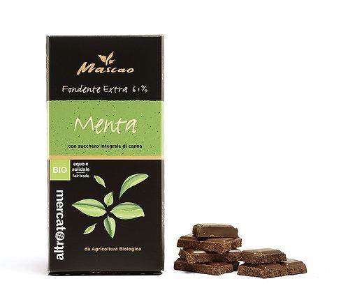 Mascao Extra dark chocolate - mint