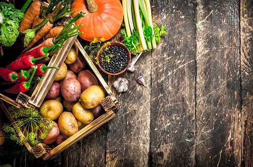 The Organic Autumn Box - 8kg