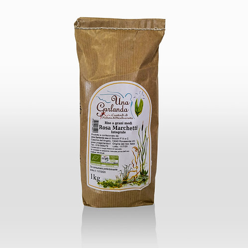 Wholegrain Italian rice (Rosa Marchetti variety) - 1kg