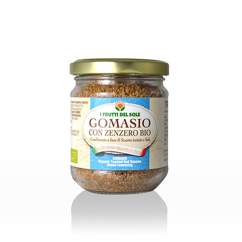 Gomasio with Ginger - Organic Sesame seed and salt 100g