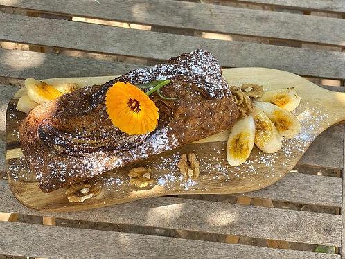 Banana Bread - Gluten Free & Vegan - Serves 8