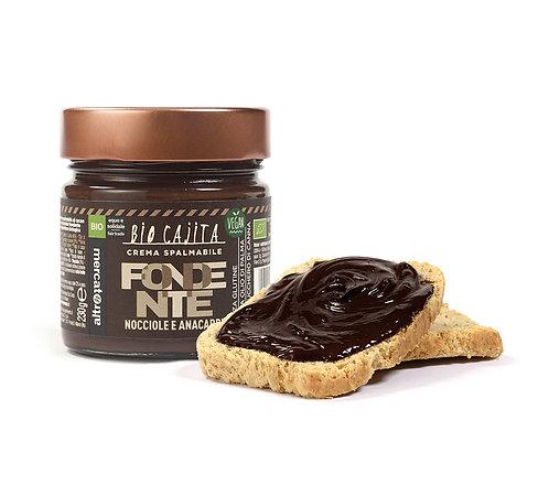 Dark chocolate, hazelnut and cashew spread - 230g Altromercato