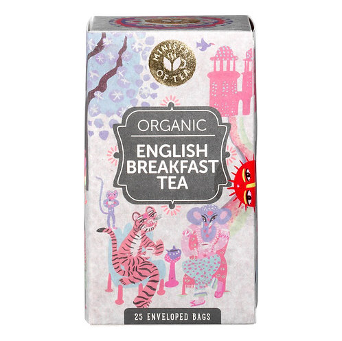 Organic English Breakfast Tea (Ministry of Tea) x 25 filters