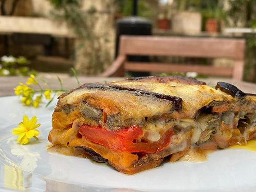 Organic Veg Millefoglie with Stracchino - Serves 1