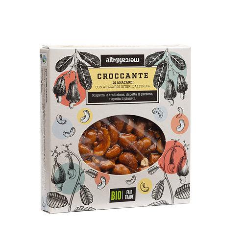 Cashew nut brittle (vegan, gluten free) x 120g