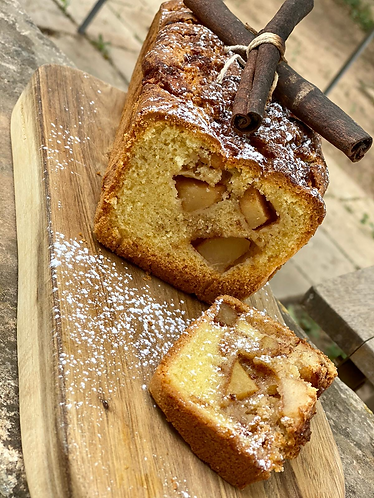 Organic Country Apple Fritter Bread (GF)