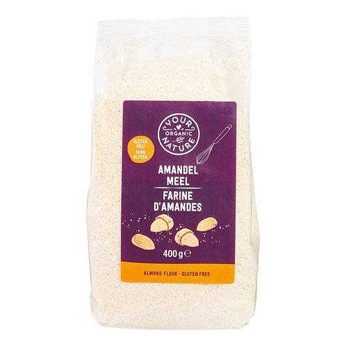 Almond flour - 400g (Your Organic Nature)