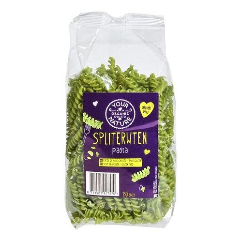 Split pea fusilli - 250g (Your Organic Nature)