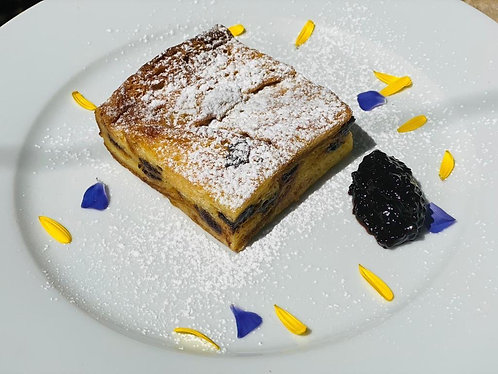 Bread & Butter Pudding - Serves 1