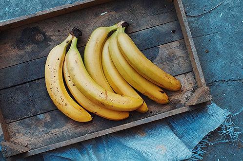 Bananas - per bunch 850g-1kg