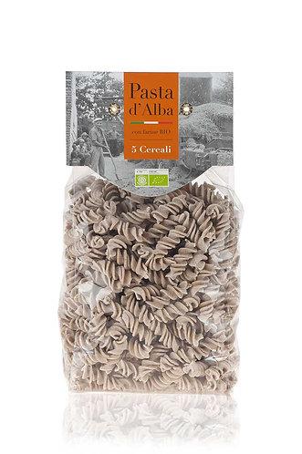 5 cereal fusilli 500g Pasta D'Alba