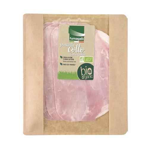 Organic prosciutto cotto (Fumagalli) 70g