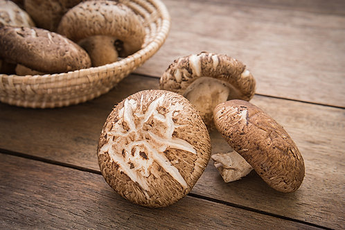 Shiitake Mushrooms - 250g