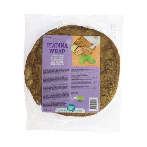 Hemp & Wheat wraps - 240g
