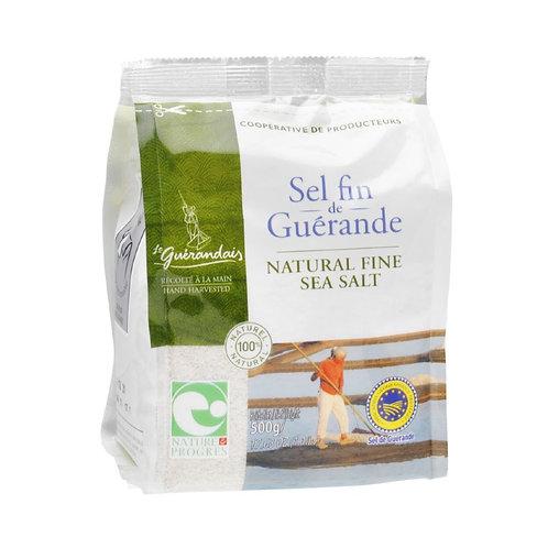 Fine Sea Salt - 500g (Le Guérandais)