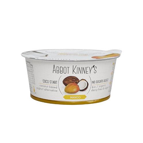 Vegan Mango Coconut Yoghurt - 125ml (Abbot Kinneys)