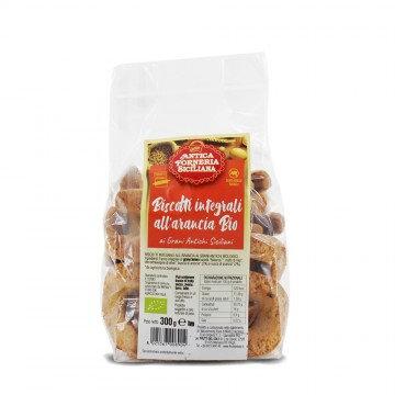 Wholewheat biscuits - orange 300g