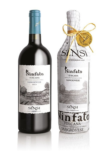 Sensi Ninfato SanGiovese 2017 without sulfites - 750ml