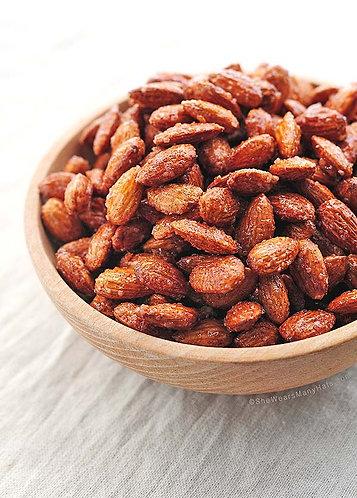 Caramelised almonds (vegan & gluten free) 80g