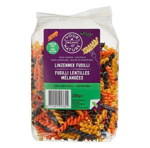 Mixed lentil fusilli (gluten free) 250g