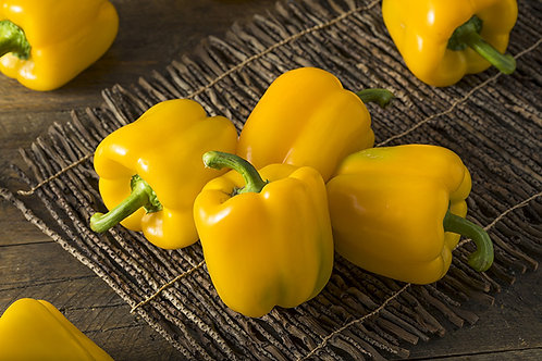 Yellow peppers - c. 250-400g