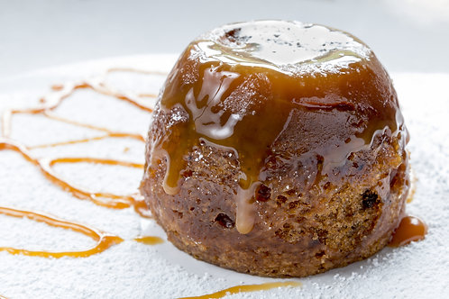 Sticky Toffee Pudding with Butterscotch Sauce - Serves 1