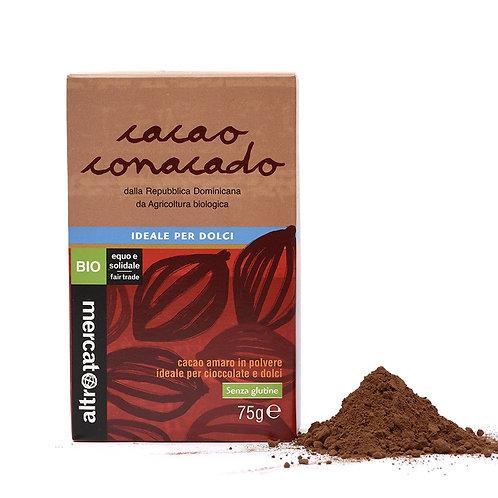 Bitter chocolate powder