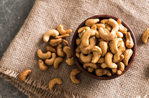 Roasted cashew nuts - loose - 200g