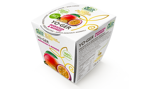 Passion fruit & Mango Rice-based Yoghurt - 125g
