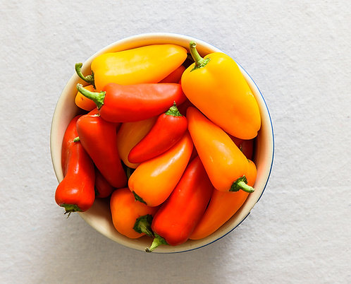 Mini Sweet Peppers - per punnet