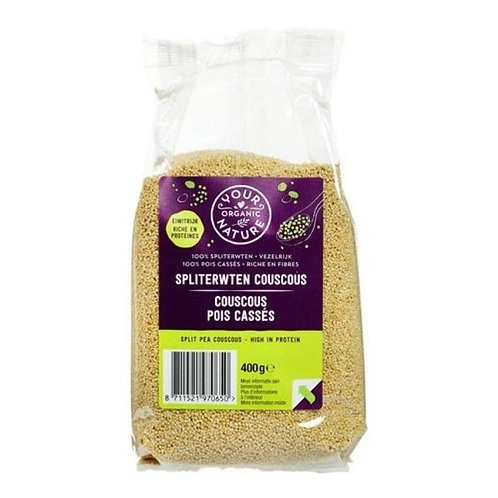 Green pea couscous - 400g (Your Organic Nature)