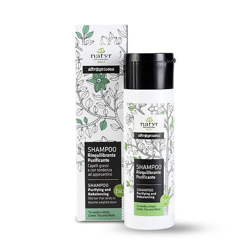 Green Tea and Mate shampoo (greasy hair)