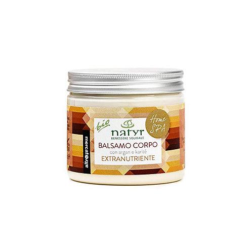 Body moisturizing mask – argan oil and shea butter