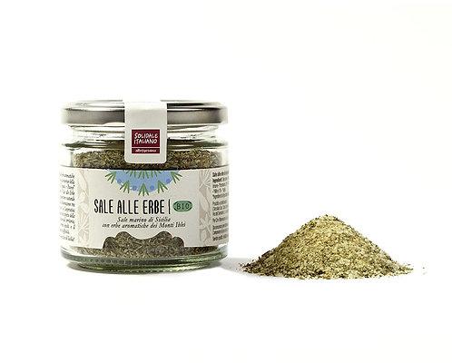 Salt with Sicilian herbs