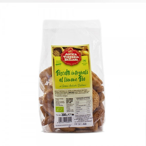 Wholewheat lemon biscuits - 300g