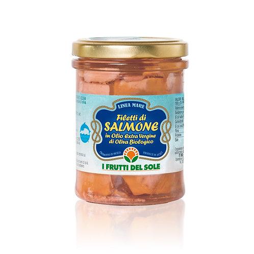 Salmon fillets in EVOO - 200g