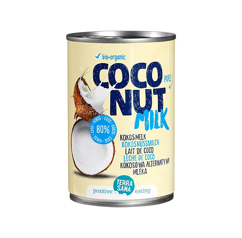 Coconut milk x 400ml (TerraSana)