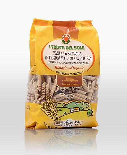 Wholegrain penne rigate (Frutti del Sole) - 500g
