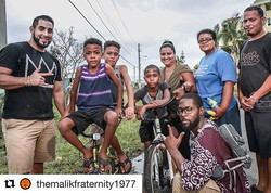 #Repost _themalikfraternity1977 with _get_repost_・・・_MALIK doesn't do just community work, we do sol