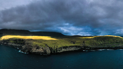 Eiði land view