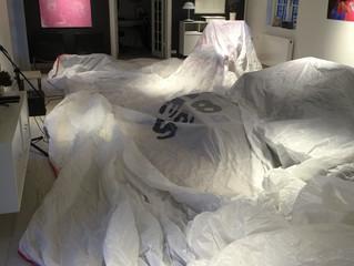 Tørring af spiler i stuen :-)