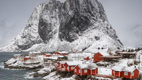 The iconic Hamnøy